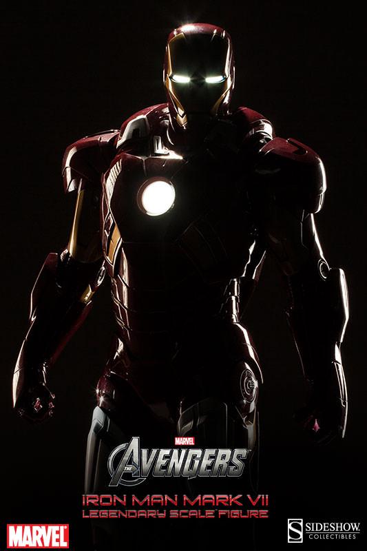 [Sideshow] Iron Man Mark VII - Legendary Scale figure - LANÇADO!!! - Página 2 Iron-Man-Mark-VII-Legendary-Scale-006