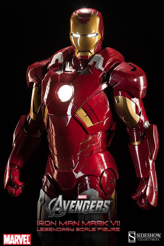[Sideshow] Iron Man Mark VII - Legendary Scale figure - LANÇADO!!! - Página 2 Iron-Man-Mark-VII-Legendary-Scale-007
