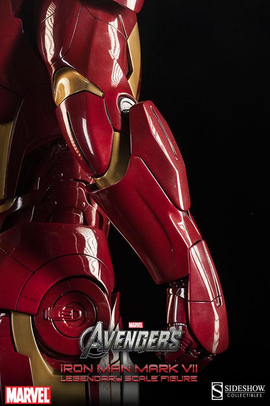 [Sideshow] Iron Man Mark VII - Legendary Scale figure - LANÇADO!!! - Página 2 Iron-Man-Mark-VII-Legendary-Scale-008