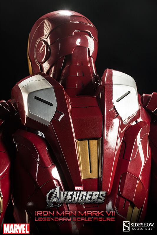 [Sideshow] Iron Man Mark VII - Legendary Scale figure - LANÇADO!!! - Página 2 Iron-Man-Mark-VII-Legendary-Scale-009