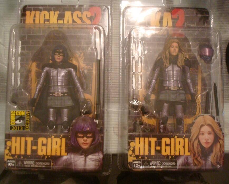 """[NECA] Kick Ass 2 - 7"""" action Figures Kick-Ass-2-Series-2-Hit-Girl"""
