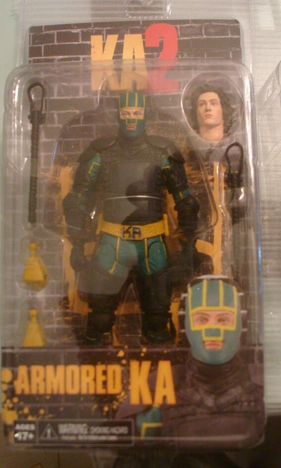 """[NECA] Kick Ass 2 - 7"""" action Figures Kick-Ass-2-Armored-Kick-Ass-Carded"""