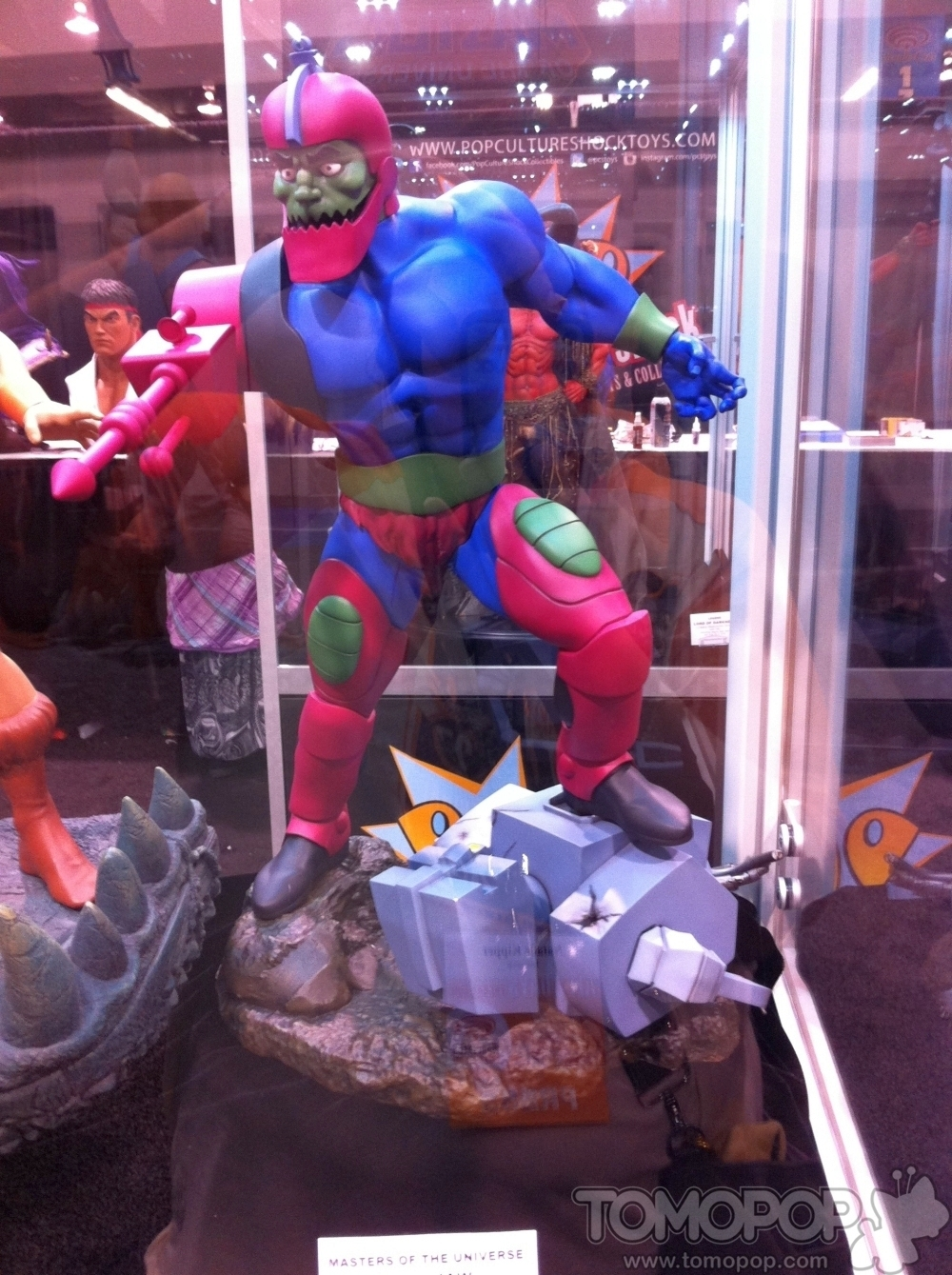 [Pop Culture Shock] Masters Of The Universe: Trap Jaw 1/4 scale PCS-MOTU-Trap-Jaw-002