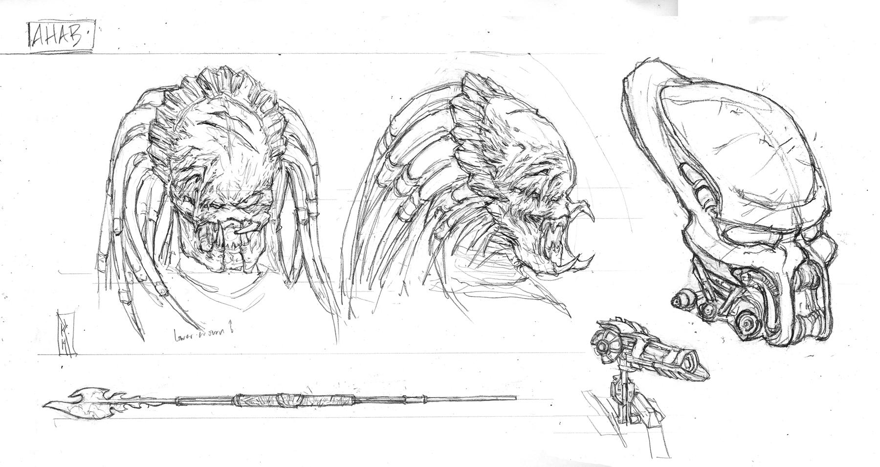 [NECA] [Tópico Oficial] PREDADORES - SDCC Exclusive: Dark Horse Comics - Ahab Predator - Página 20 SDCC-Ahab-Predator-004