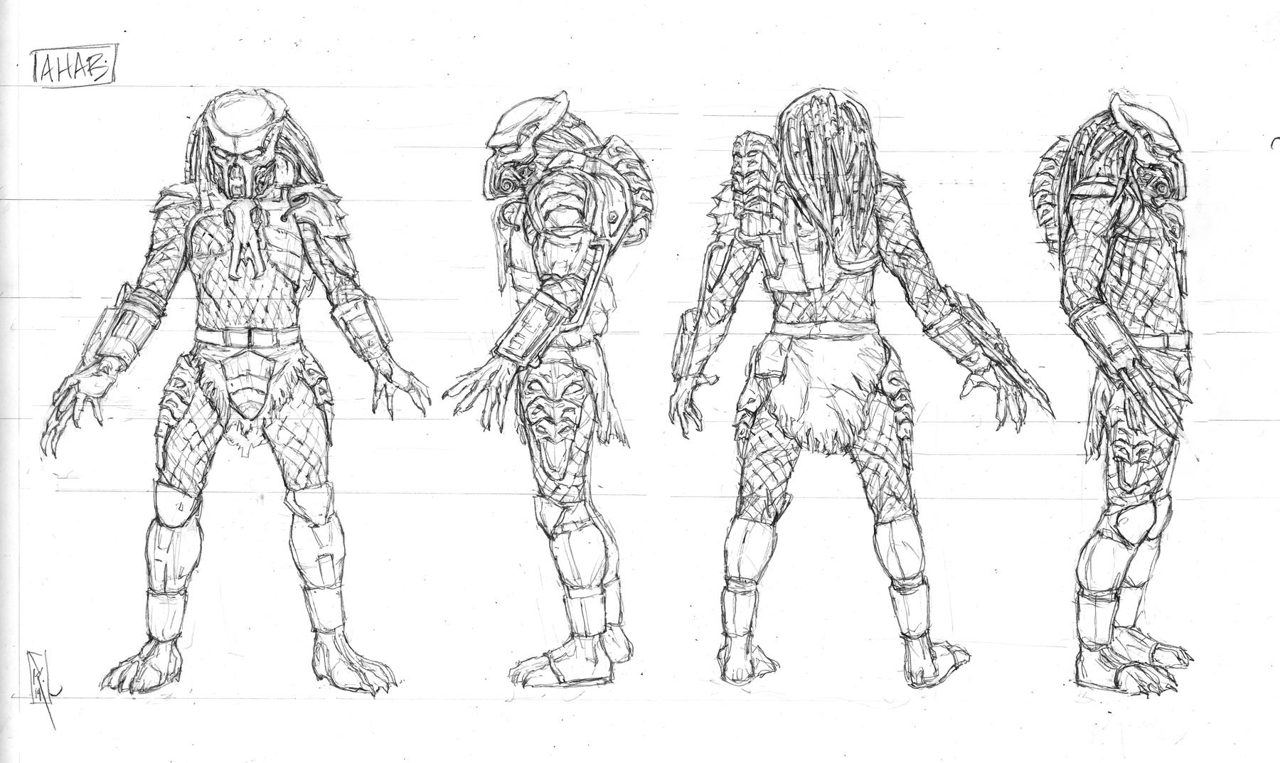[NECA] [Tópico Oficial] PREDADORES - SDCC Exclusive: Dark Horse Comics - Ahab Predator - Página 20 SDCC-Ahab-Predator-005