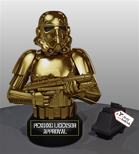 [Gentle Giant] Star Wars: 10 Year Comemorative Golden Stormtrooper Bust Gentle-Giant-Golden-Stormtrooper-Bust