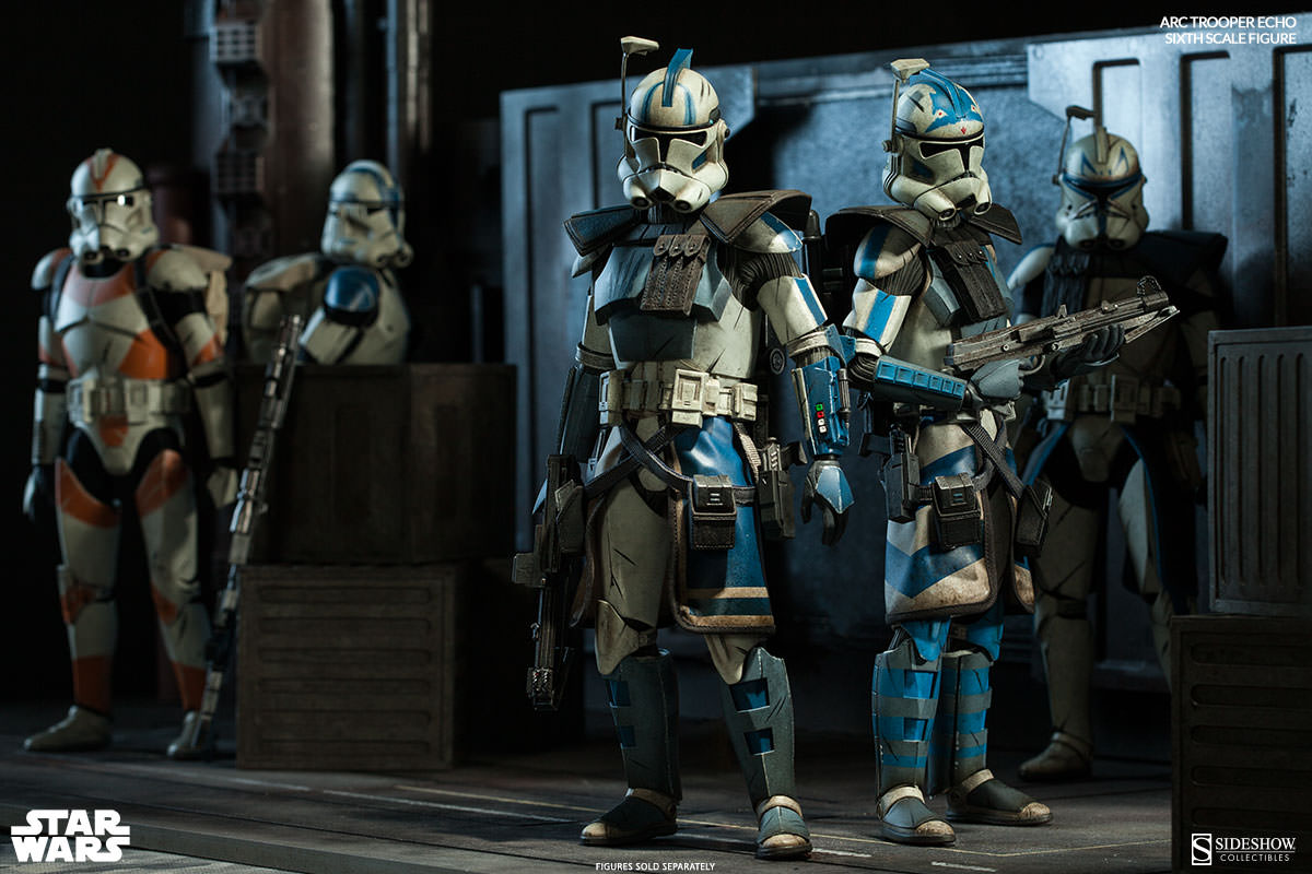 [Sideshow] Star Wars: Arc Clone Troopers - Echo and Fives Sixth Scale Figures Star-Wars-ARC-Clone-Troopers-Sixth-Scale-Figures-2