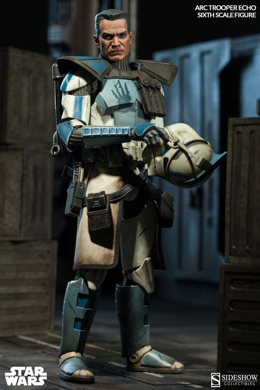 [Sideshow] Star Wars: Arc Clone Troopers - Echo and Fives Sixth Scale Figures Star-Wars-Echo-ARC-Clone-Trooper-Sixth-Scale-Figures-002