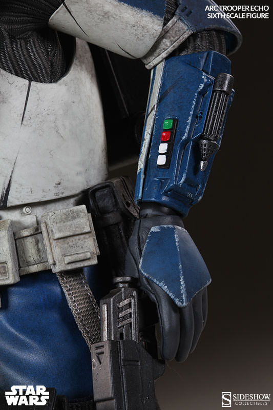 [Sideshow] Star Wars: Arc Clone Troopers - Echo and Fives Sixth Scale Figures Star-Wars-Echo-ARC-Clone-Trooper-Sixth-Scale-Figures-005