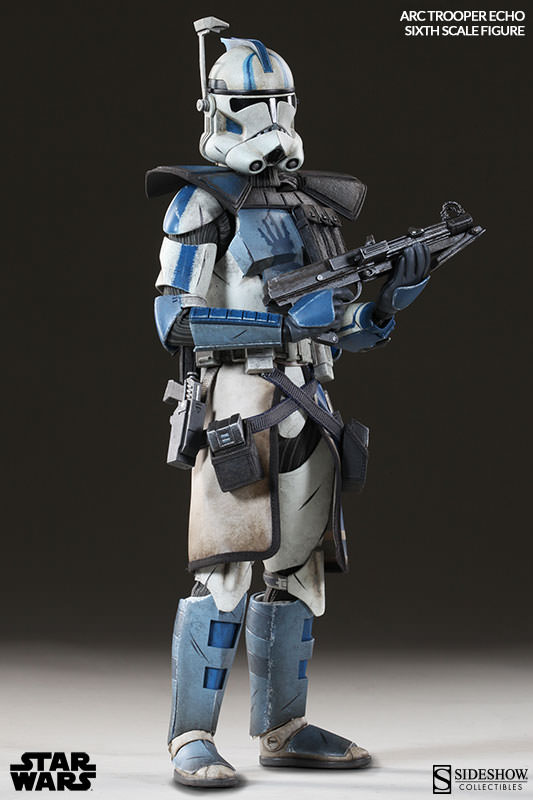 [Sideshow] Star Wars: Arc Clone Troopers - Echo and Fives Sixth Scale Figures Star-Wars-Echo-ARC-Clone-Trooper-Sixth-Scale-Figures-007