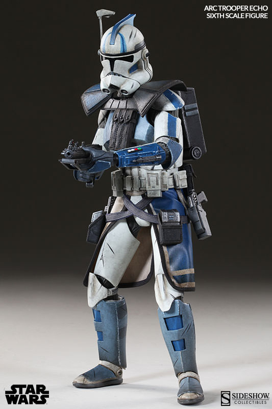 [Sideshow] Star Wars: Arc Clone Troopers - Echo and Fives Sixth Scale Figures Star-Wars-Echo-ARC-Clone-Trooper-Sixth-Scale-Figures-008