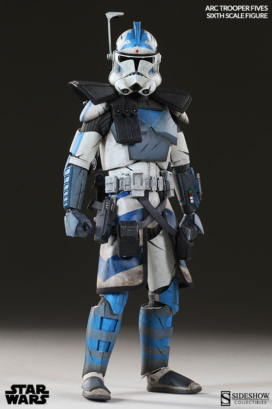 [Sideshow] Star Wars: Arc Clone Troopers - Echo and Fives Sixth Scale Figures Star-Wars-Fives-ARC-Clone-Trooper-Sixth-Scale-Figures-002
