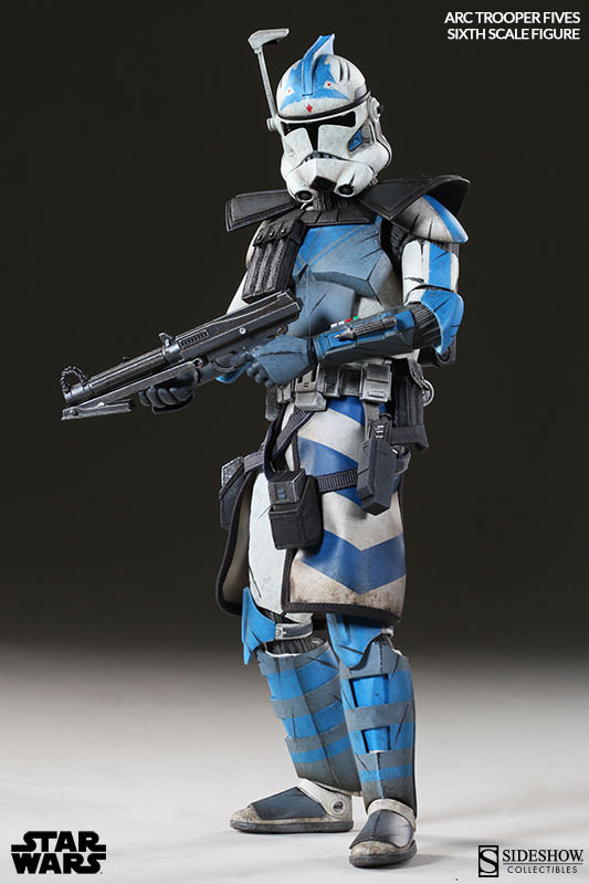 [Sideshow] Star Wars: Arc Clone Troopers - Echo and Fives Sixth Scale Figures Star-Wars-Fives-ARC-Clone-Trooper-Sixth-Scale-Figures-003