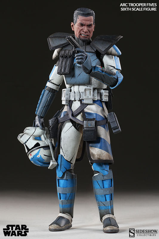 [Sideshow] Star Wars: Arc Clone Troopers - Echo and Fives Sixth Scale Figures Star-Wars-Fives-ARC-Clone-Trooper-Sixth-Scale-Figures-005