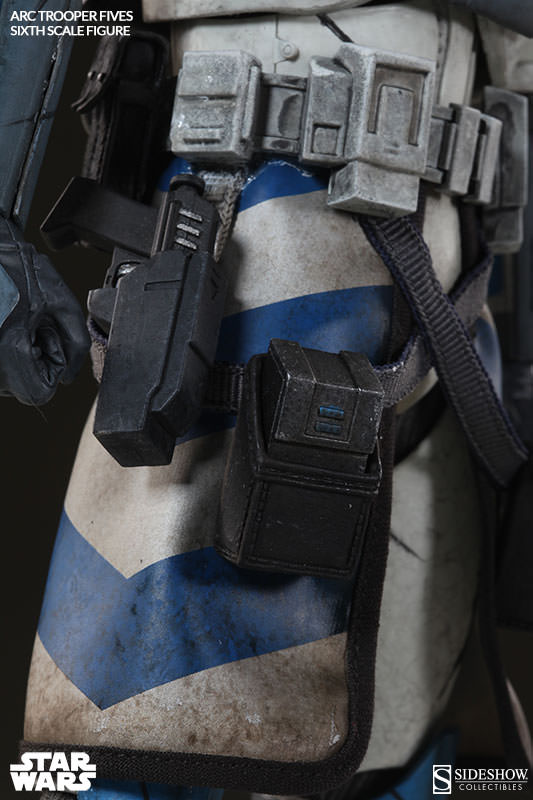 [Sideshow] Star Wars: Arc Clone Troopers - Echo and Fives Sixth Scale Figures Star-Wars-Fives-ARC-Clone-Trooper-Sixth-Scale-Figures-008