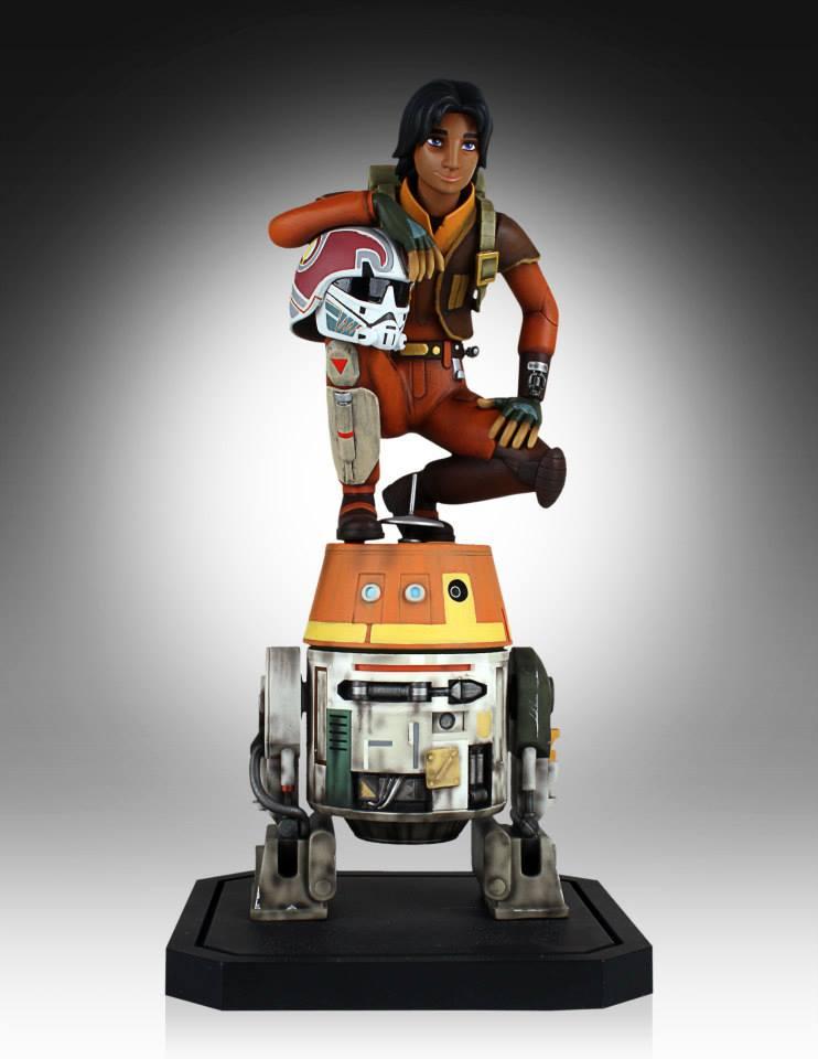 [Gentle Giant] Star Wars Rebeles – Ezra with Chopper 1/8 Scale  Star-Wars-Rebels-Ezra-with-Chopper-Maquette-2