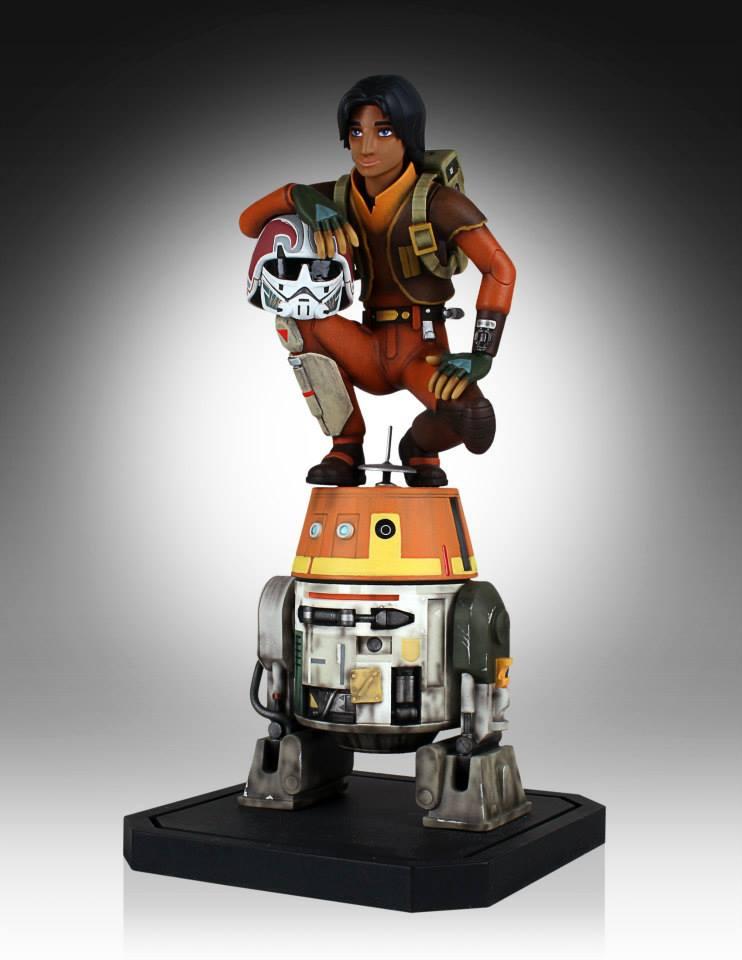 [Gentle Giant] Star Wars Rebeles – Ezra with Chopper 1/8 Scale  Star-Wars-Rebels-Ezra-with-Chopper-Maquette-3