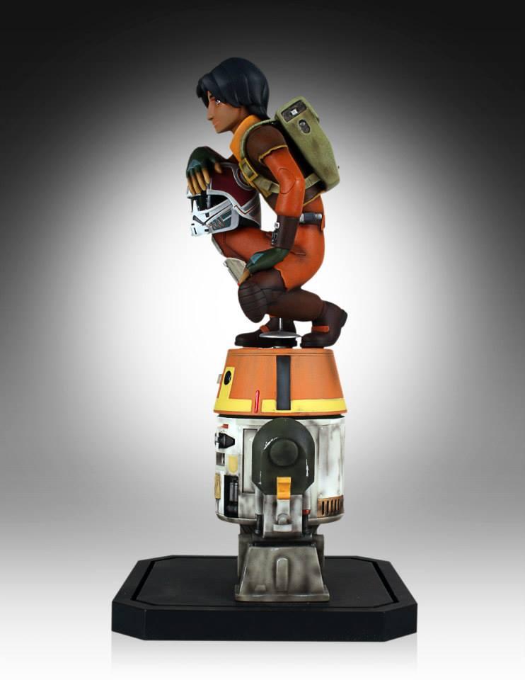 [Gentle Giant] Star Wars Rebeles – Ezra with Chopper 1/8 Scale  Star-Wars-Rebels-Ezra-with-Chopper-Maquette-4