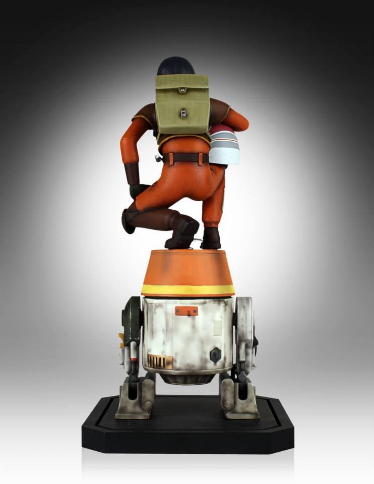 [Gentle Giant] Star Wars Rebeles – Ezra with Chopper 1/8 Scale  Star-Wars-Rebels-Ezra-with-Chopper-Maquette-5