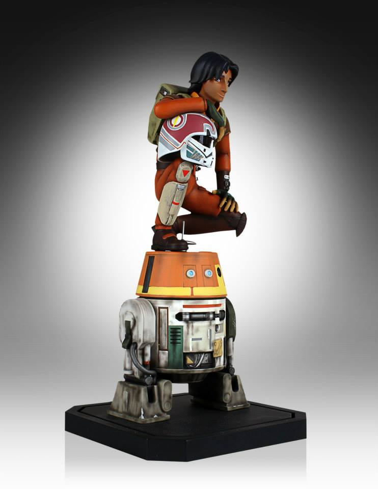 [Gentle Giant] Star Wars Rebeles – Ezra with Chopper 1/8 Scale  Star-Wars-Rebels-Ezra-with-Chopper-Maquette-7