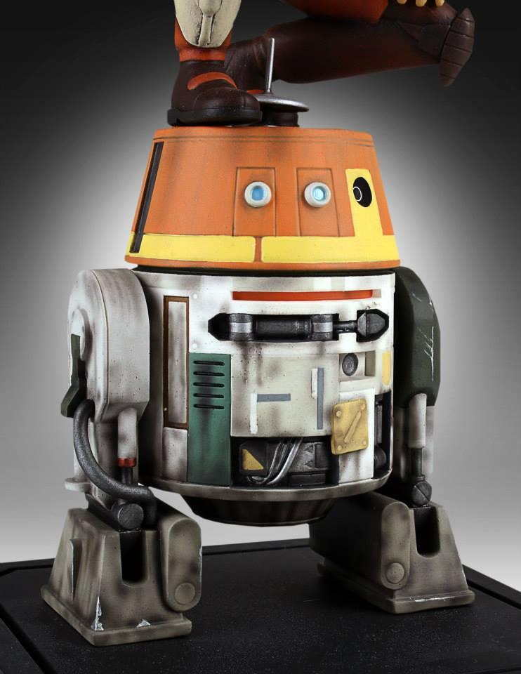 [Gentle Giant] Star Wars Rebeles – Ezra with Chopper 1/8 Scale  Star-Wars-Rebels-Ezra-with-Chopper-Maquette-8