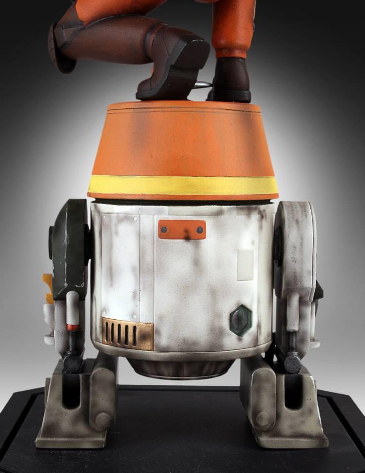 [Gentle Giant] Star Wars Rebeles – Ezra with Chopper 1/8 Scale  Star-Wars-Rebels-Ezra-with-Chopper-Maquette-9