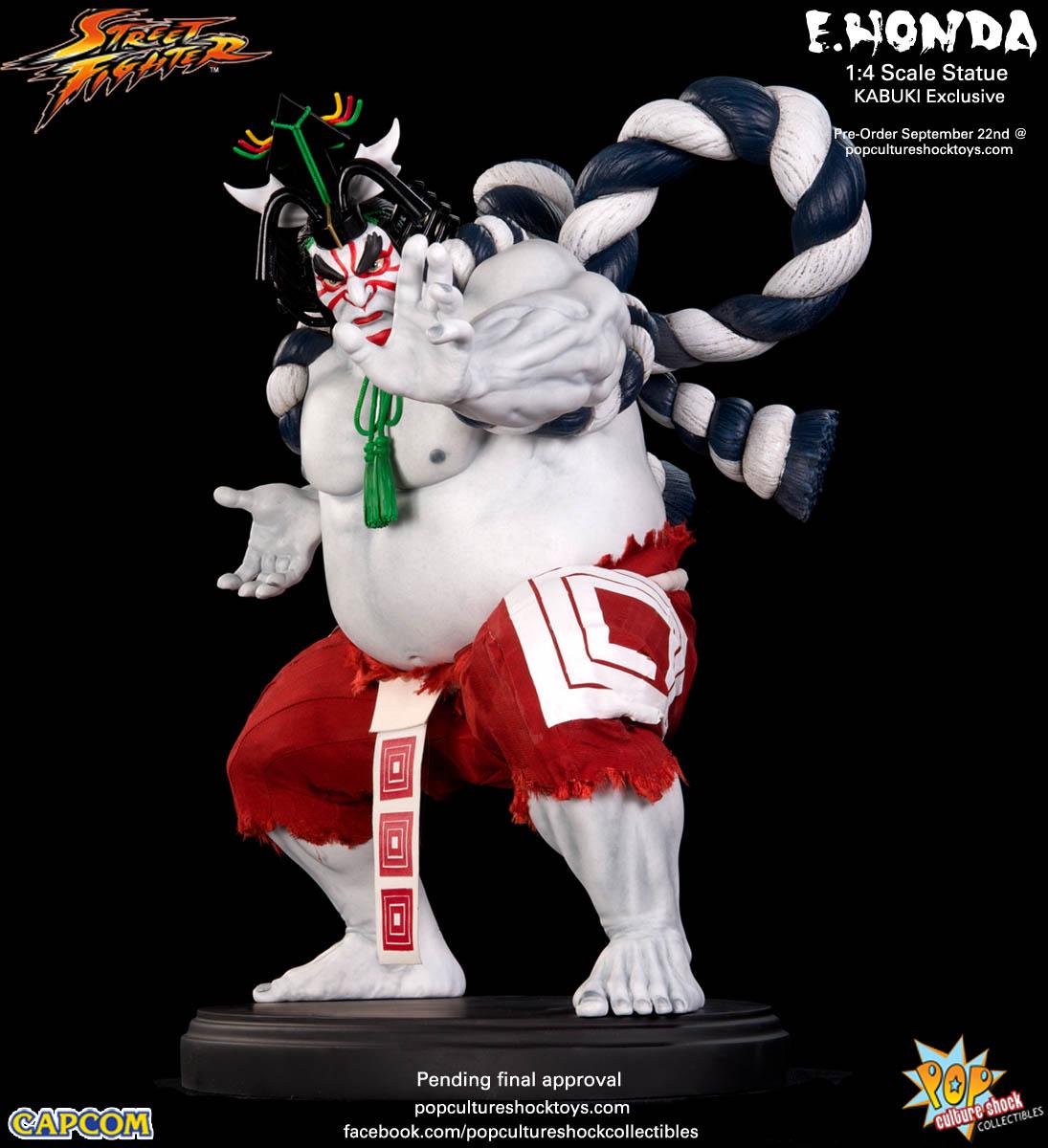 [Pop Culture Shock] Street Fighter: E. Honda 1/4 Statue - Página 3 Street-Fighter-E.-Honda-Kabuki-Statue-001