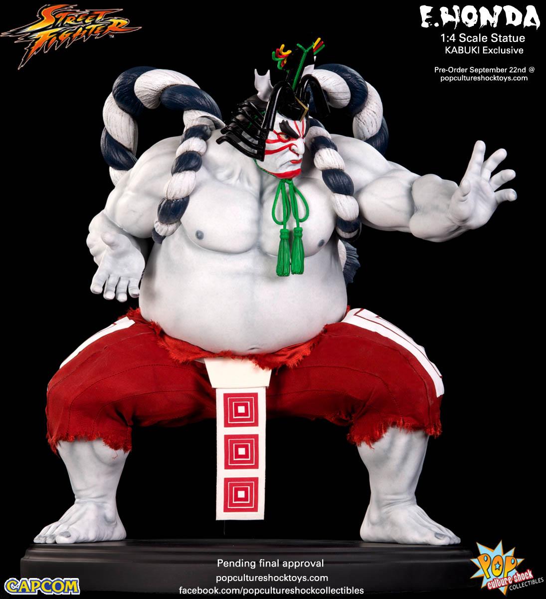 [Pop Culture Shock] Street Fighter: E. Honda 1/4 Statue - Página 3 Street-Fighter-E.-Honda-Kabuki-Statue-004