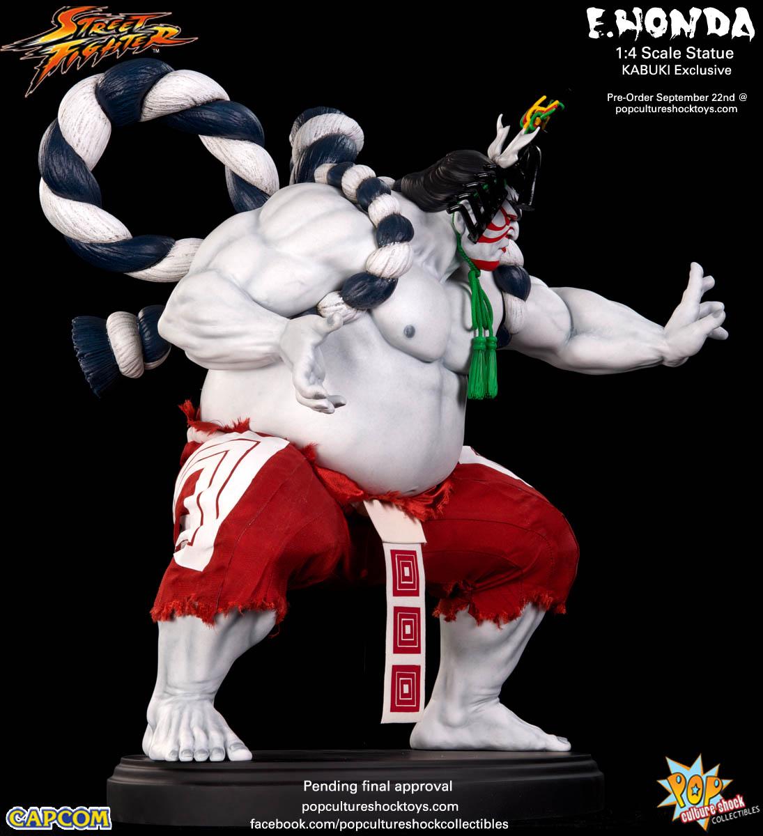 [Pop Culture Shock] Street Fighter: E. Honda 1/4 Statue - Página 3 Street-Fighter-E.-Honda-Kabuki-Statue-006