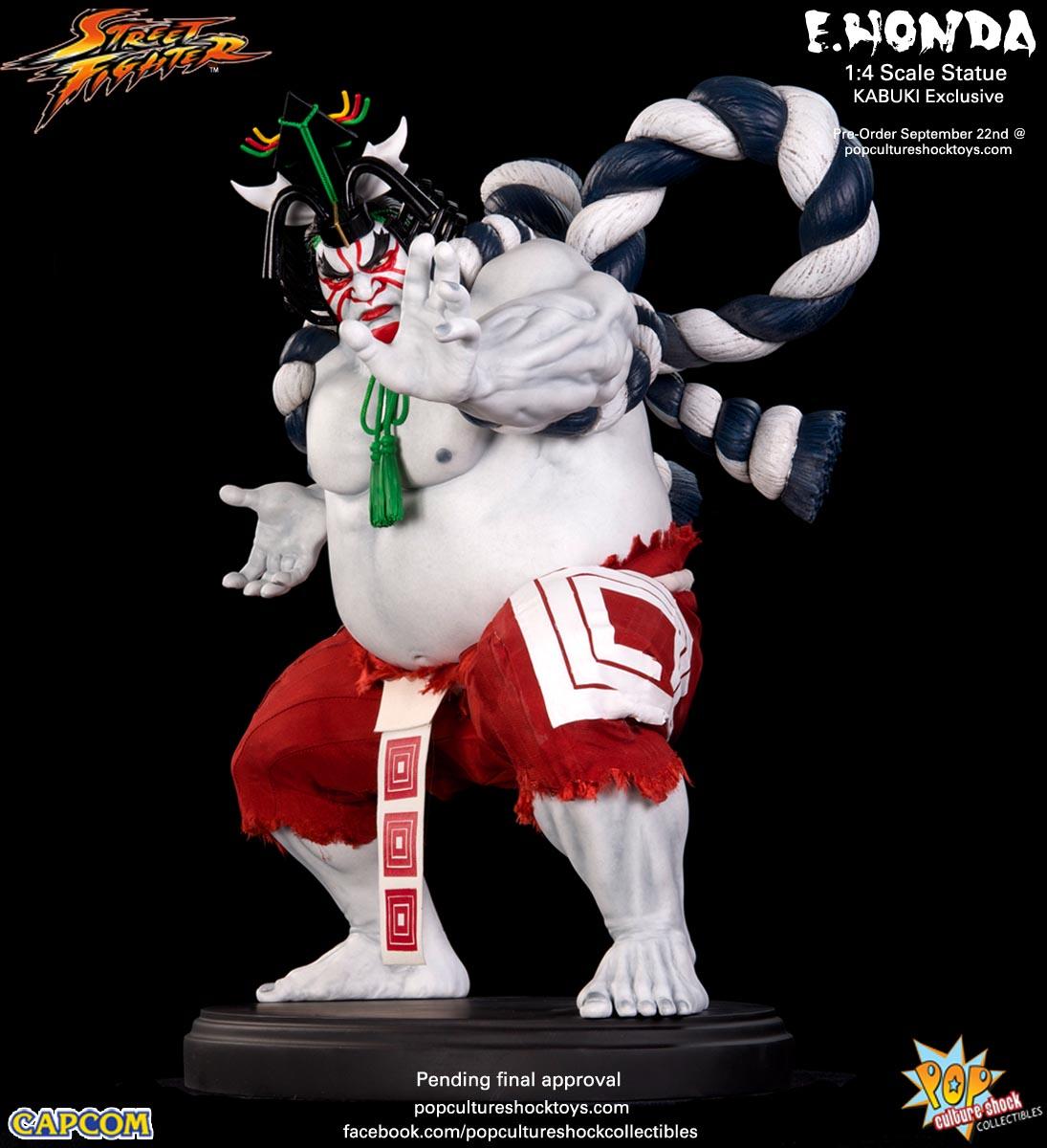 [Pop Culture Shock] Street Fighter: E. Honda 1/4 Statue - Página 3 Street-Fighter-E.-Honda-Kabuki-Statue-008