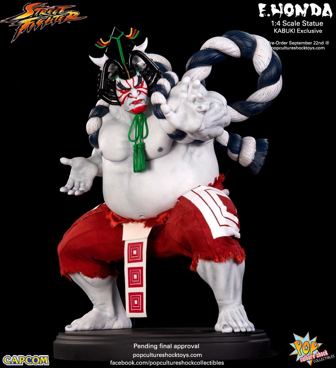 [Pop Culture Shock] Street Fighter: E. Honda 1/4 Statue - Página 3 Street-Fighter-E.-Honda-Kabuki-Statue-009