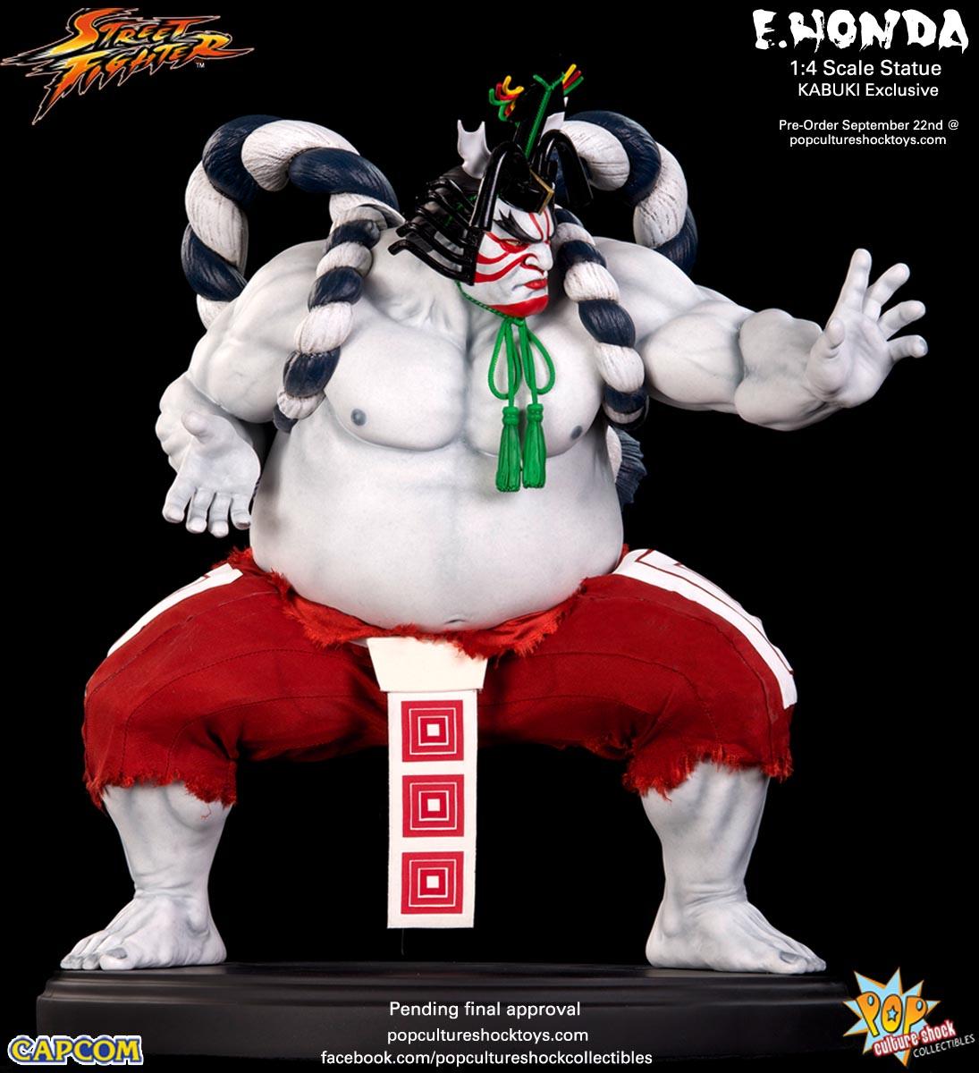 [Pop Culture Shock] Street Fighter: E. Honda 1/4 Statue - Página 3 Street-Fighter-E.-Honda-Kabuki-Statue-011