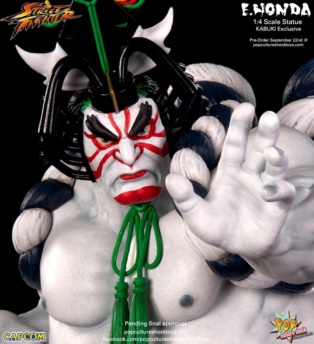 [Pop Culture Shock] Street Fighter: E. Honda 1/4 Statue - Página 3 Street-Fighter-E.-Honda-Kabuki-Statue-018