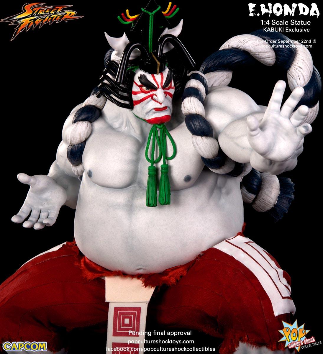 [Pop Culture Shock] Street Fighter: E. Honda 1/4 Statue - Página 3 Street-Fighter-E.-Honda-Kabuki-Statue-019