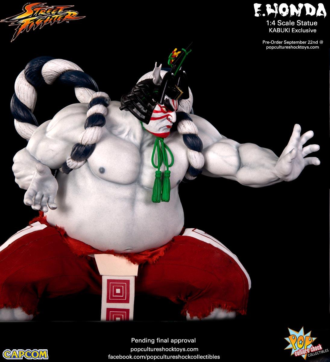 [Pop Culture Shock] Street Fighter: E. Honda 1/4 Statue - Página 3 Street-Fighter-E.-Honda-Kabuki-Statue-021