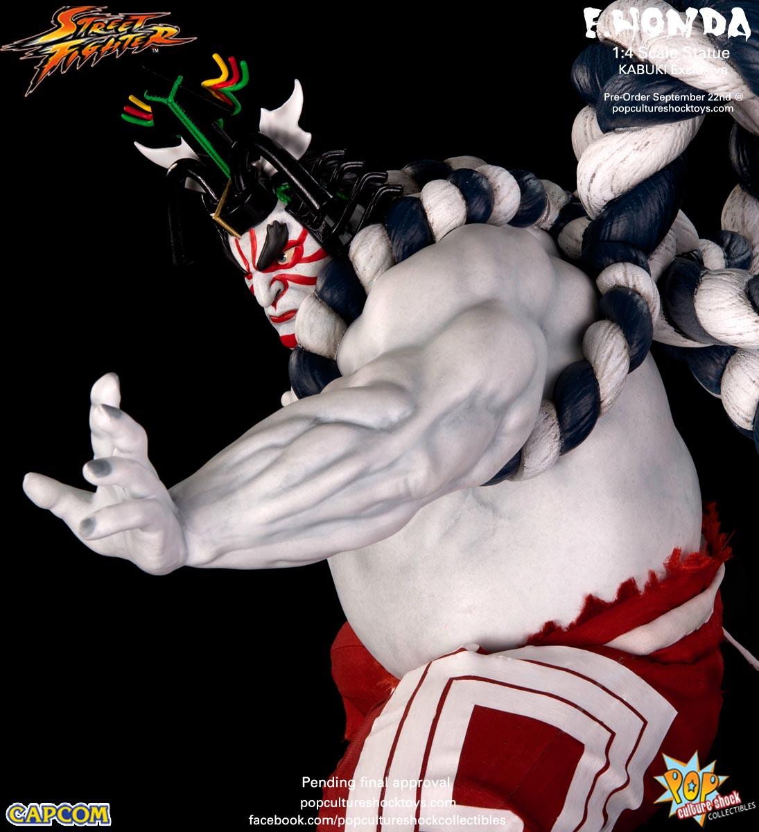 [Pop Culture Shock] Street Fighter: E. Honda 1/4 Statue - Página 3 Street-Fighter-E.-Honda-Kabuki-Statue-022