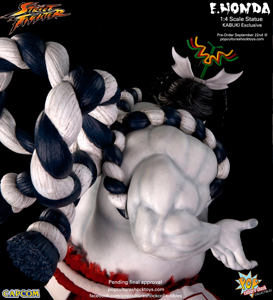 [Pop Culture Shock] Street Fighter: E. Honda 1/4 Statue - Página 3 Street-Fighter-E.-Honda-Kabuki-Statue-023