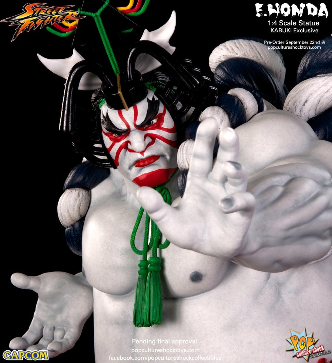 [Pop Culture Shock] Street Fighter: E. Honda 1/4 Statue - Página 3 Street-Fighter-E.-Honda-Kabuki-Statue-024
