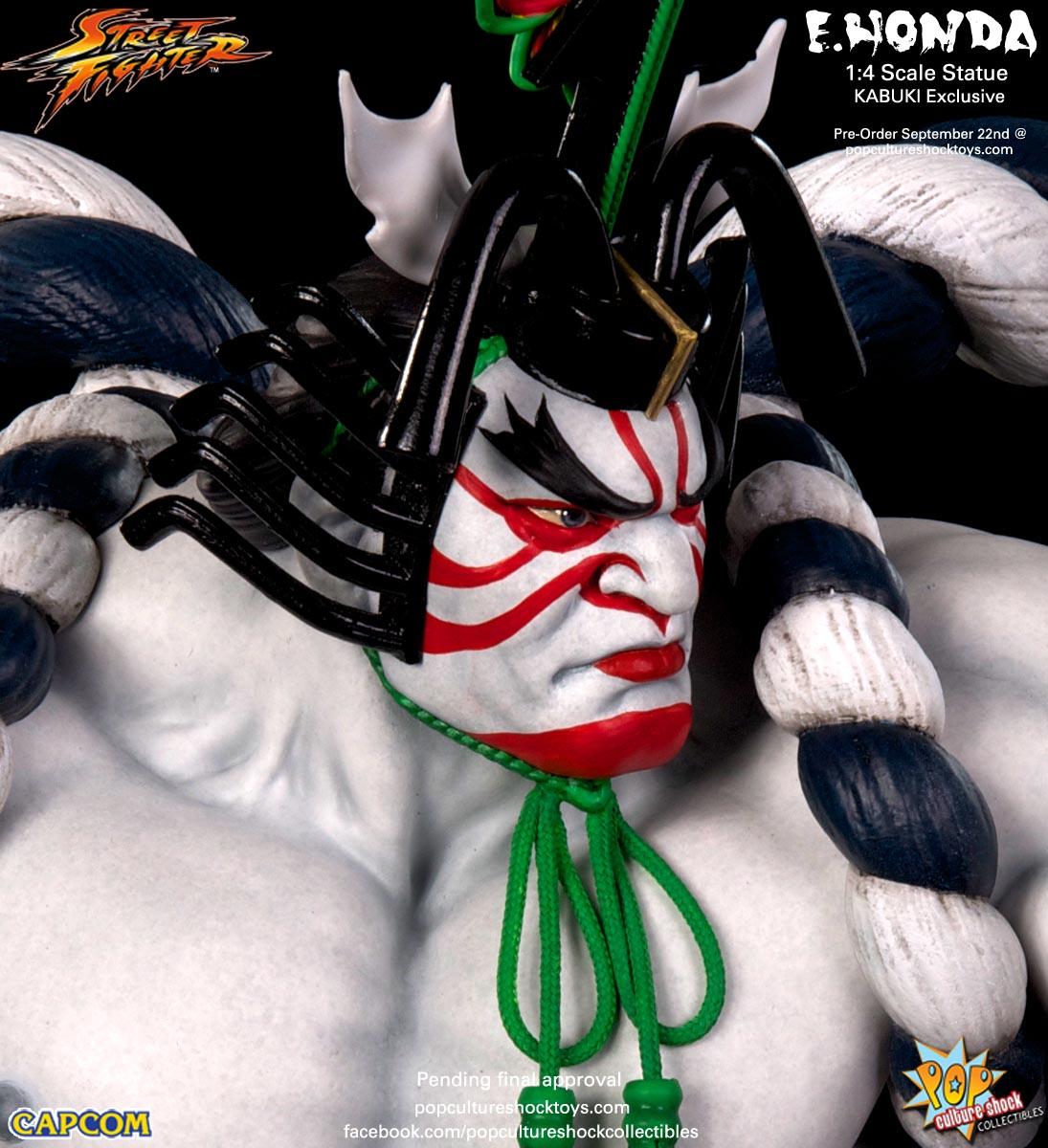 [Pop Culture Shock] Street Fighter: E. Honda 1/4 Statue - Página 3 Street-Fighter-E.-Honda-Kabuki-Statue-027