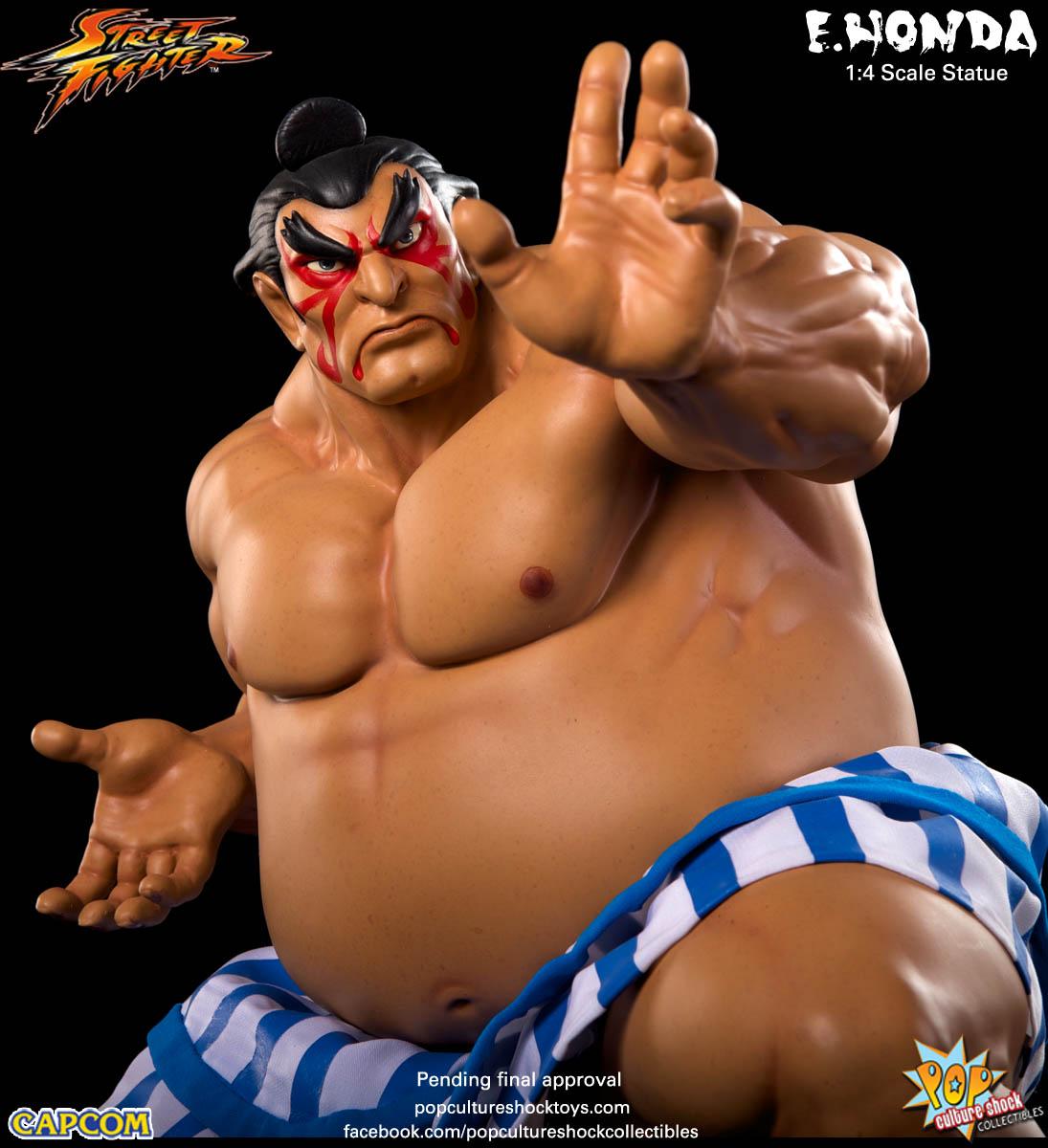 [Pop Culture Shock] Street Fighter: E. Honda 1/4 Statue - Página 3 Street-Fighter-E.-Honda-Regular-Statue-003