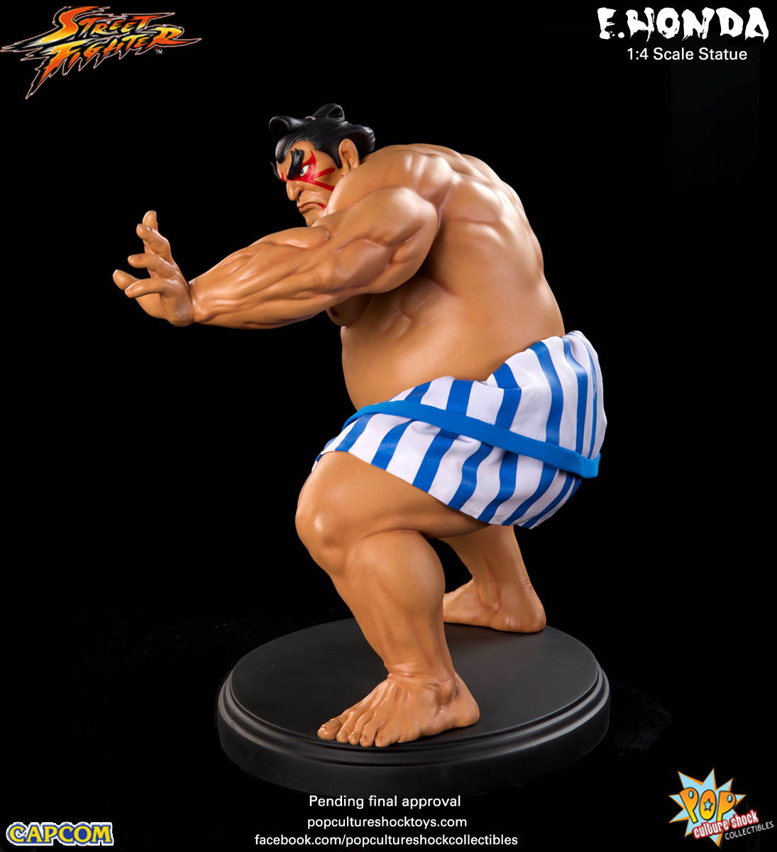 [Pop Culture Shock] Street Fighter: E. Honda 1/4 Statue - Página 3 Street-Fighter-E.-Honda-Regular-Statue-008