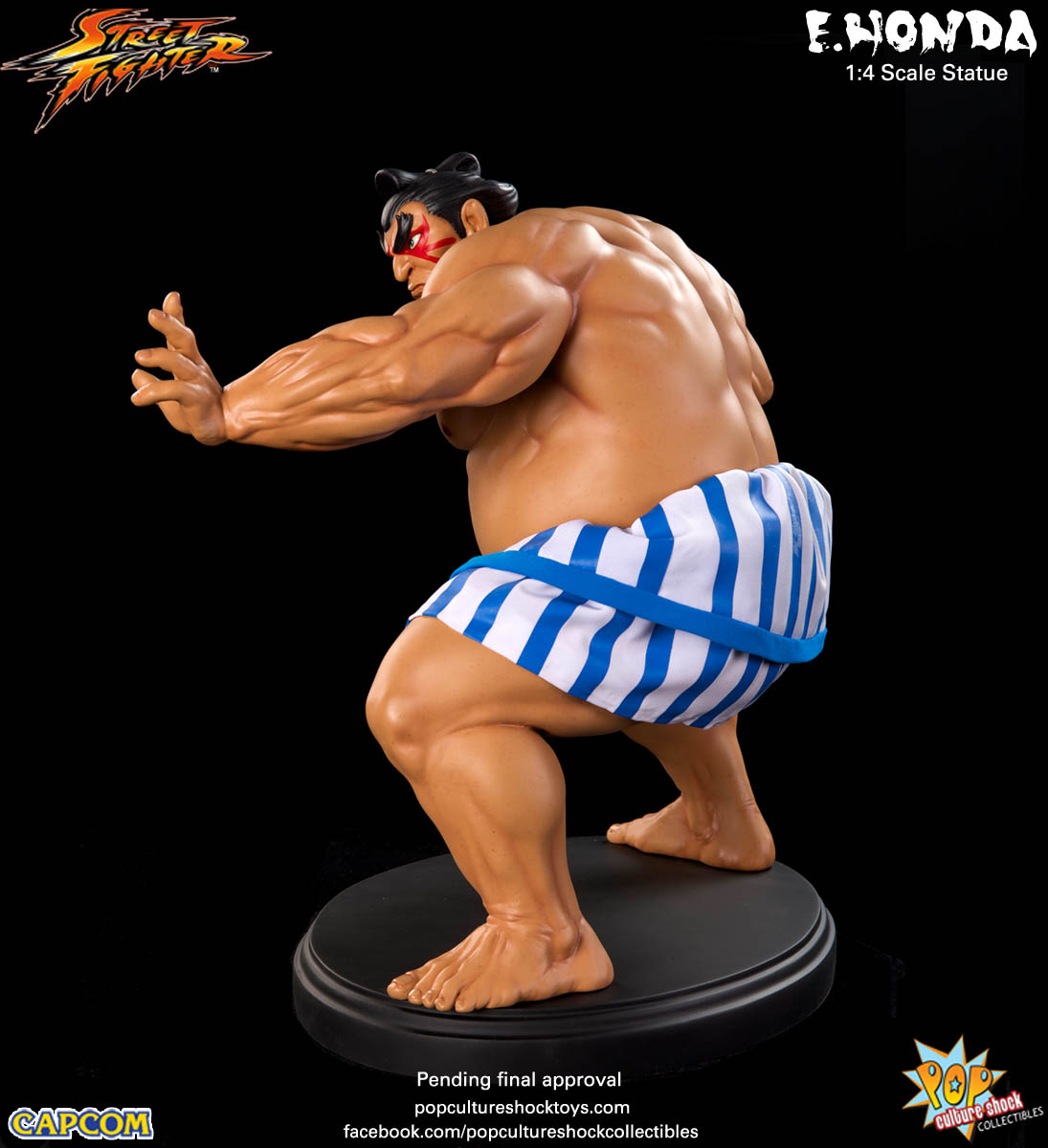 [Pop Culture Shock] Street Fighter: E. Honda 1/4 Statue - Página 3 Street-Fighter-E.-Honda-Regular-Statue-009