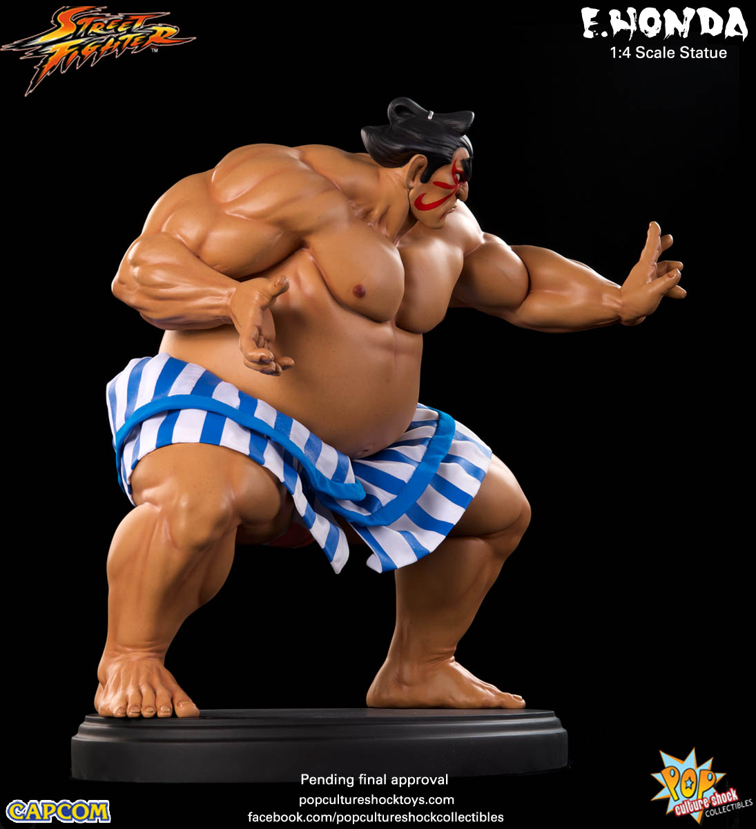 [Pop Culture Shock] Street Fighter: E. Honda 1/4 Statue - Página 3 Street-Fighter-E.-Honda-Regular-Statue-012