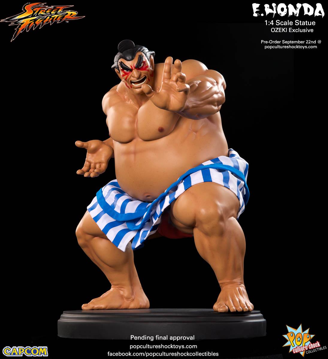 [Pop Culture Shock] Street Fighter: E. Honda 1/4 Statue - Página 3 Street-Fighter-E.-Honda-ozeki-Statue-001