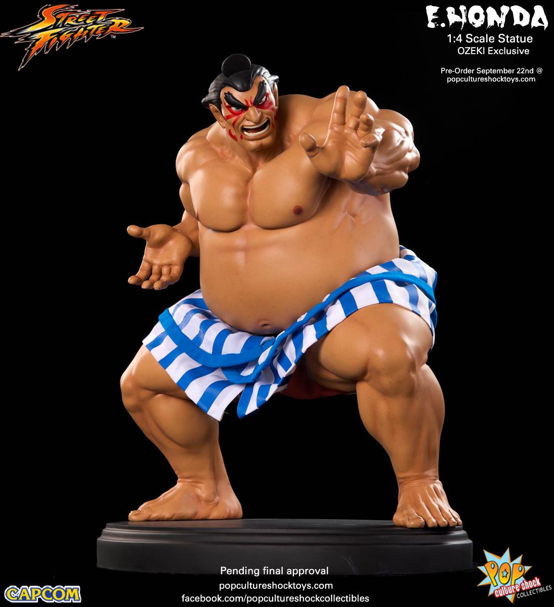 [Pop Culture Shock] Street Fighter: E. Honda 1/4 Statue - Página 3 Street-Fighter-E.-Honda-ozeki-Statue-003