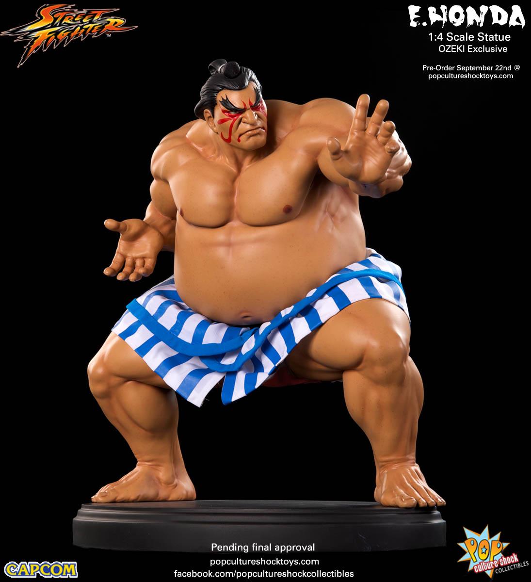 [Pop Culture Shock] Street Fighter: E. Honda 1/4 Statue - Página 3 Street-Fighter-E.-Honda-ozeki-Statue-004