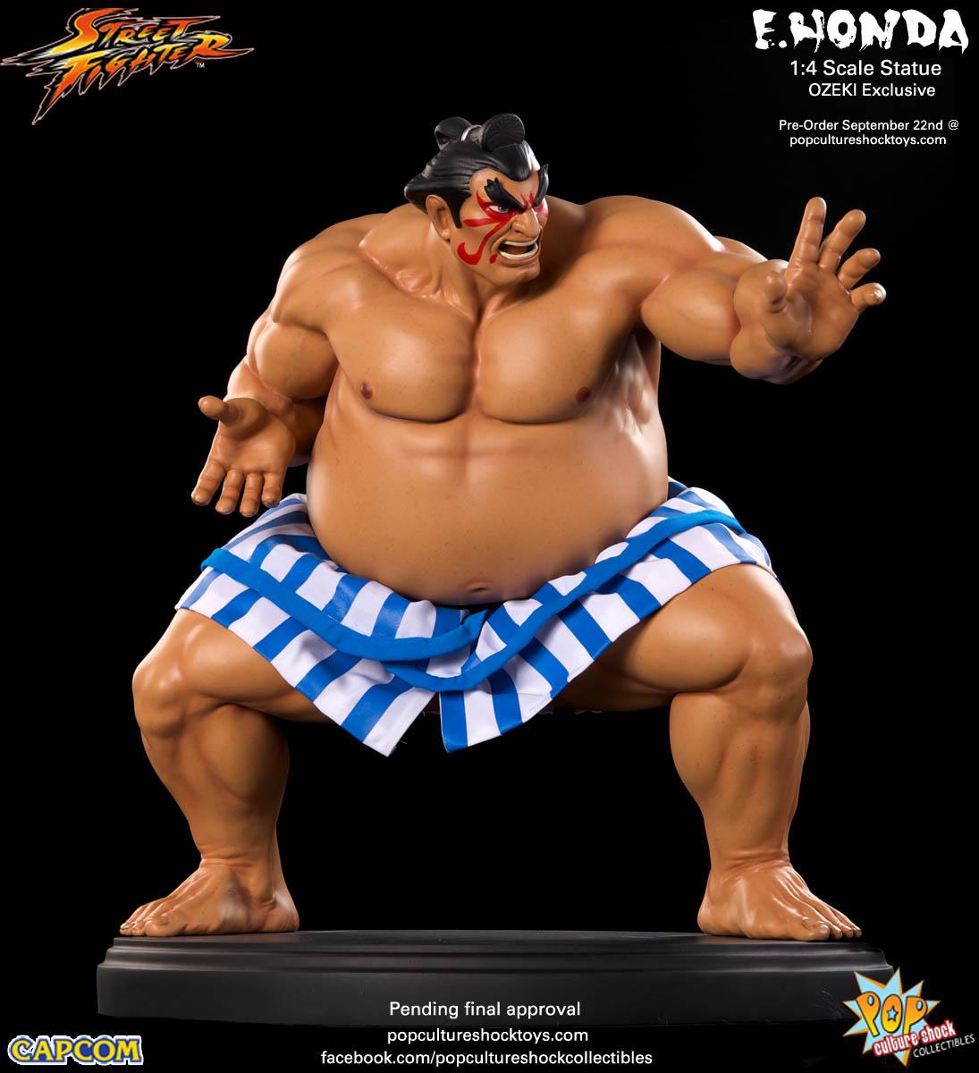 [Pop Culture Shock] Street Fighter: E. Honda 1/4 Statue - Página 3 Street-Fighter-E.-Honda-ozeki-Statue-005