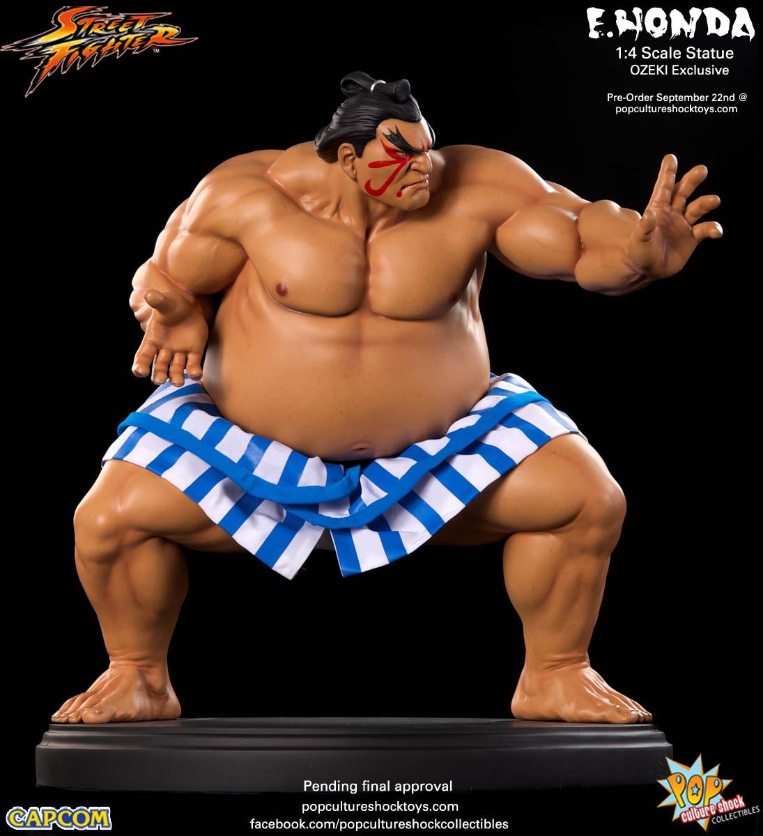 [Pop Culture Shock] Street Fighter: E. Honda 1/4 Statue - Página 3 Street-Fighter-E.-Honda-ozeki-Statue-007