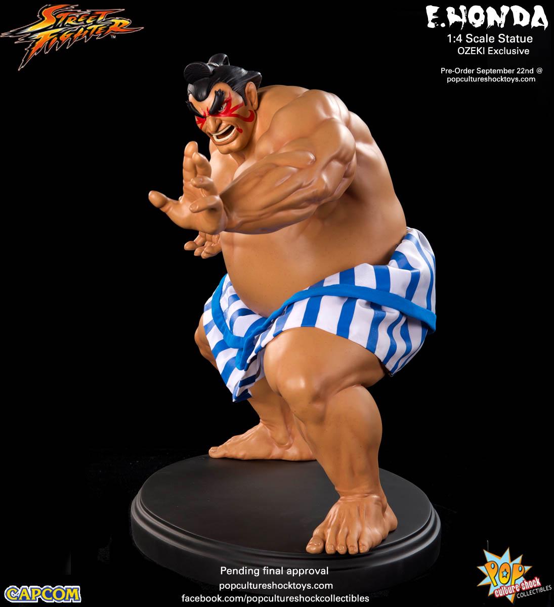 [Pop Culture Shock] Street Fighter: E. Honda 1/4 Statue - Página 3 Street-Fighter-E.-Honda-ozeki-Statue-008
