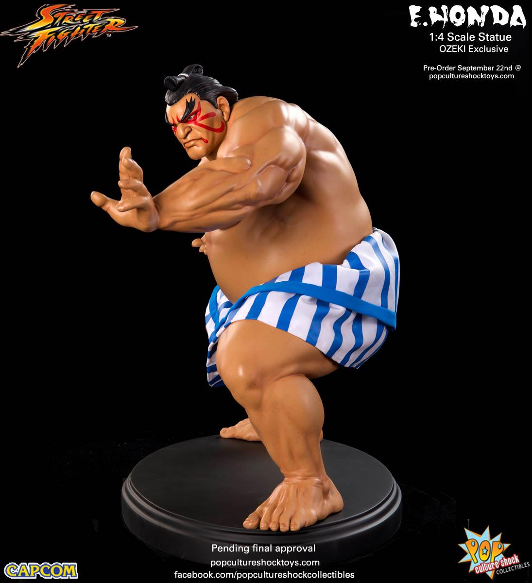[Pop Culture Shock] Street Fighter: E. Honda 1/4 Statue - Página 3 Street-Fighter-E.-Honda-ozeki-Statue-010